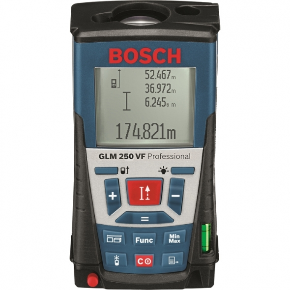 BOSCH Laserový merač vzdialeností GLM 250 VF Professional