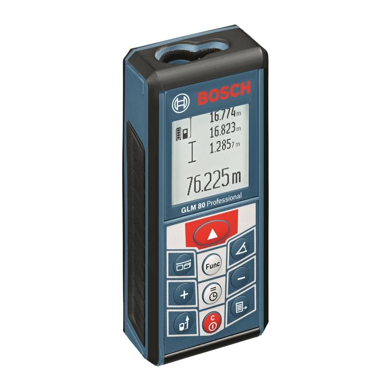 BOSCH Laserový merač vzdialeností GLM 80 Professional