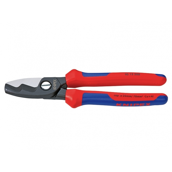KNIPEX Nožnice na káble s dvojitým britom 95 12 200