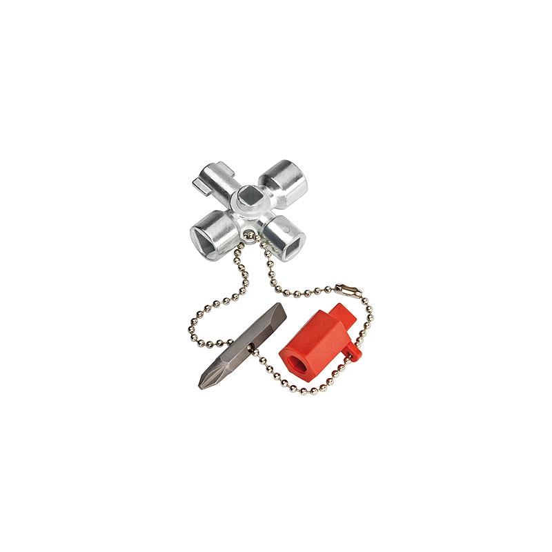KNIPEX  Kľúč na rozvodné skrine 00 11 02