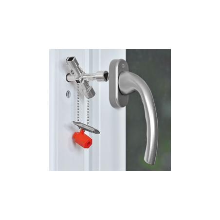 KNIPEX  Kľúč na rozvodné skrine Profi-Key 00 11 04
