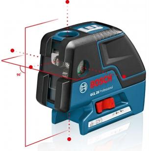 BOSCH Kombinovaný laser GCL 25 Professional