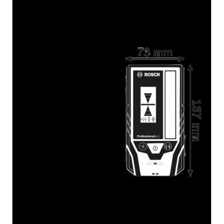BOSCH Laserový prijímač LR 7 Professional