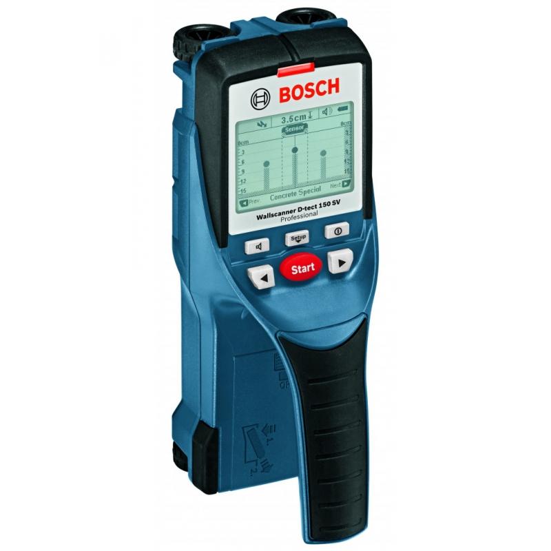 BOSCH Detektor Wallscanner D-tect 150 SV Professional