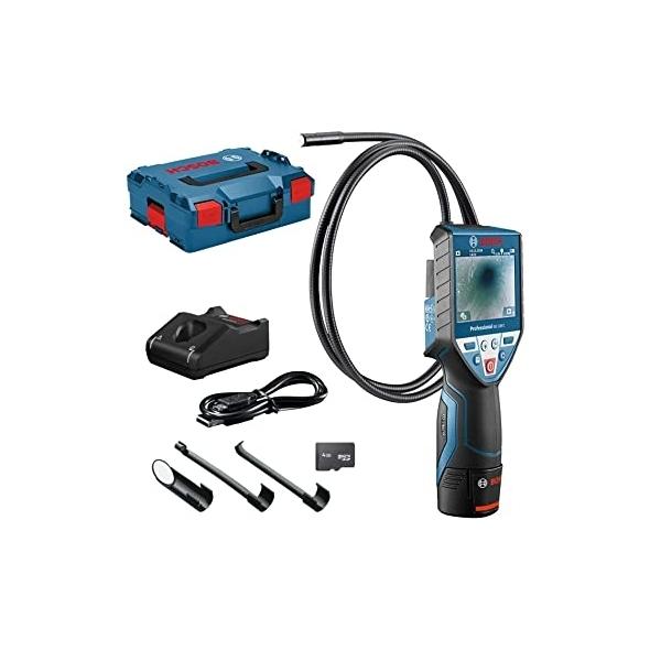 BOSCH Akumulátorová inšpekčná kamera GIC 120 C Professional s akumulátorom