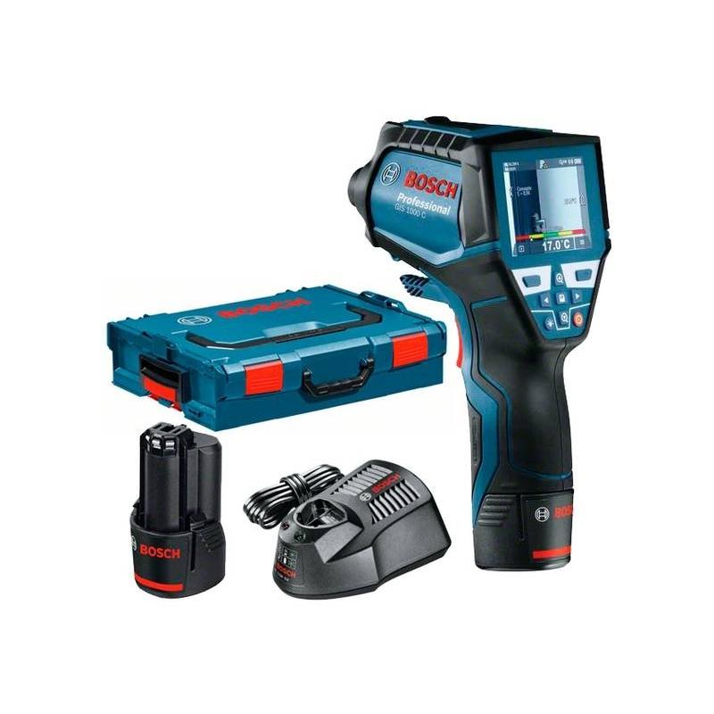 BOSCH Detektor teploty GIS 1000 C Professional s akumulátorom