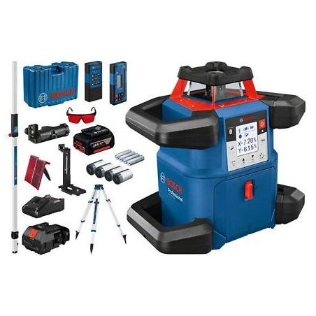 BOSCH Rotačný laser GRL 600 CHV Professional + BT 170 HD + GR 240