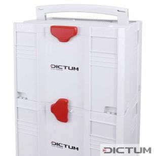 DICTUM Systainer T-LOC, svetlošedá