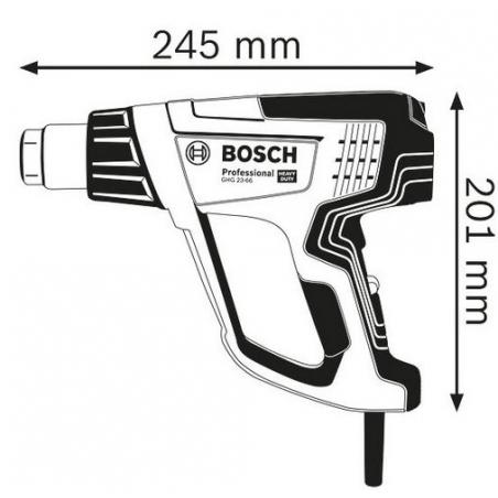 BOSCH Teplovzdušná pištoľ GHG 23-66 Professional