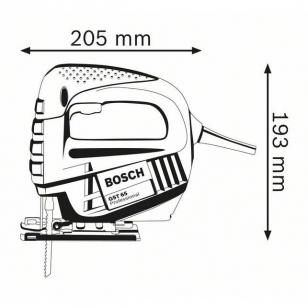 BOSCH Priamočiara píla GST 65 B Professional