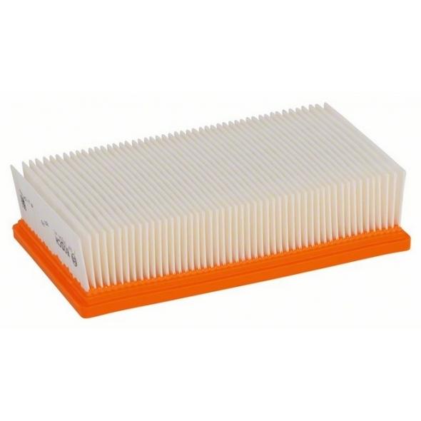 BOSCH Polyesterový plochý skladaný filter