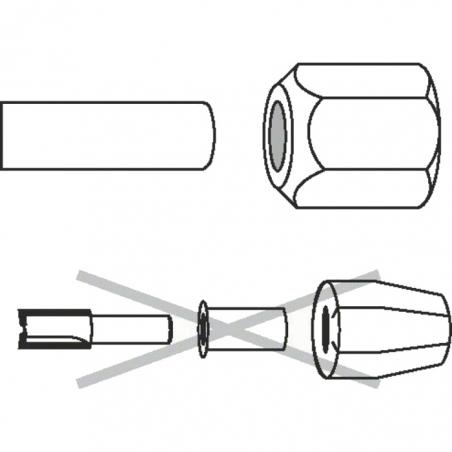 BOSCH Klieštinové upínacie puzdro 12mm