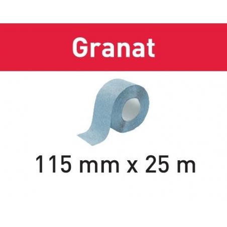 Festool Brúsny pás 115x25m P120 GR Granat