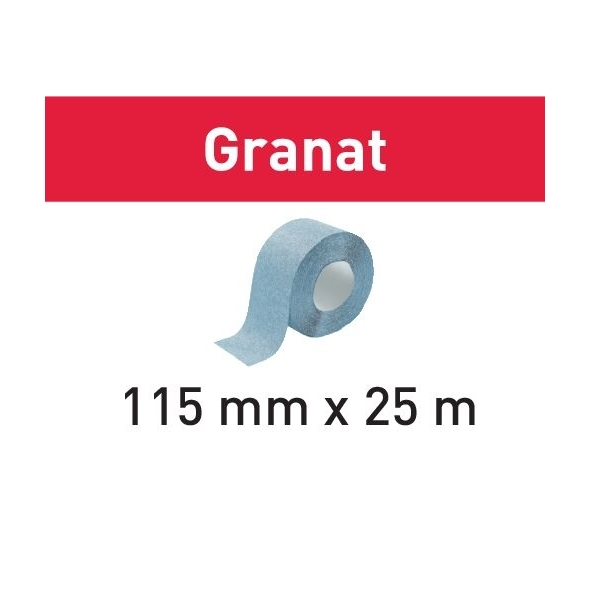 Festool Brúsny pás 115x25m P150 GR Granat