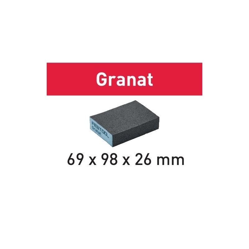 Festool Brúsna špongia 69x98x26 220 GR/6 Granat