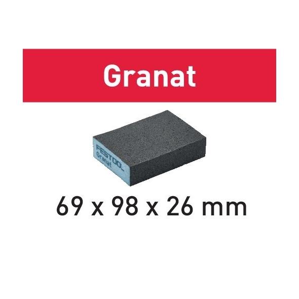 Festool Brúsna špongia 69x98x26 36 GR/6 Granat
