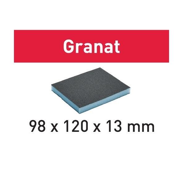 Festool Brúsna špongia 98x120x13 800 GR/6 Granat