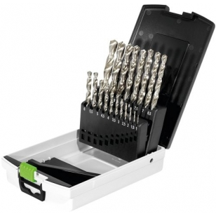 Festool Box HSS oceľové vrtáky HSS D 1-10 Sort/19