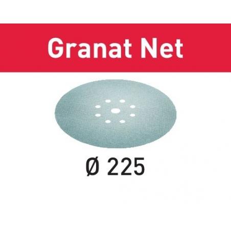 Festool Sieťové brúsne prostriedky STF D225 P150 GR NET/25 Granat Net