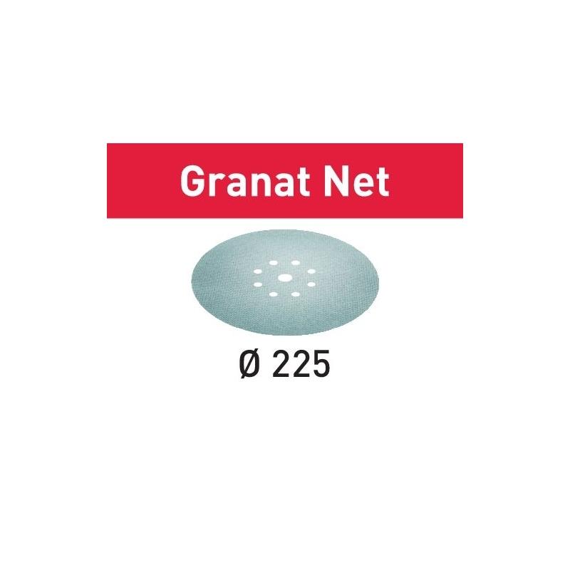 Festool Sieťové brúsne prostriedky STF D225 P80 GR NET/25 Granat Net