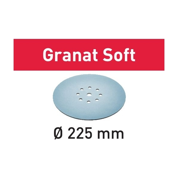 Festool Brúsny kotúč STF D225 P240 GR S/25 Granat Soft