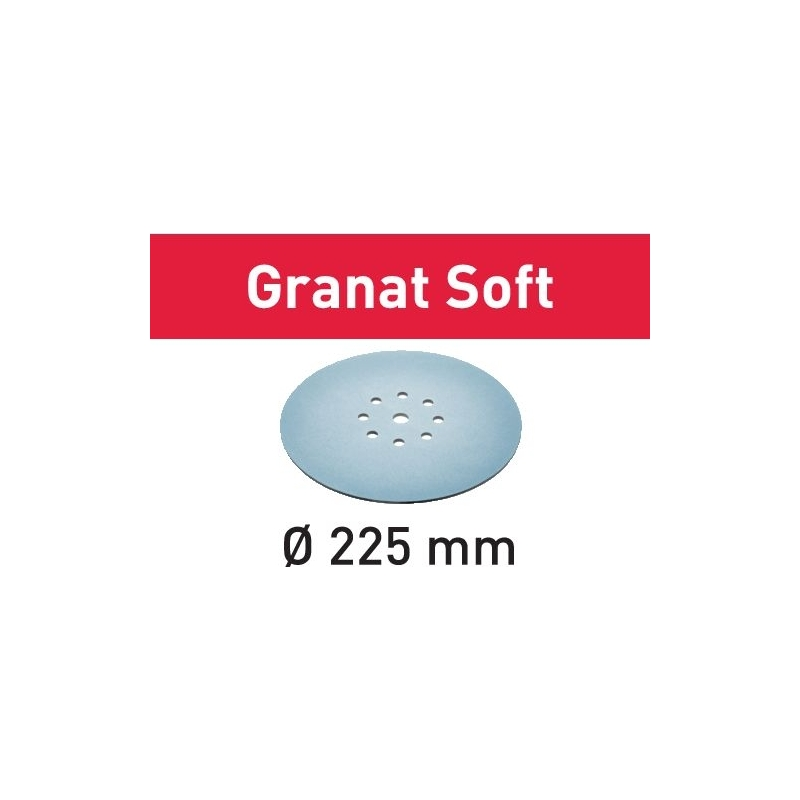 Festool Brúsny kotúč STF D225 P320 GR S/25 Granat Soft