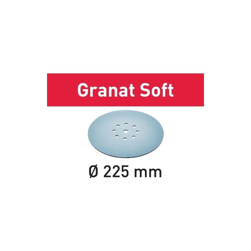 Festool Brúsny kotúč STF D225 P80 GR S/25 Granat Soft