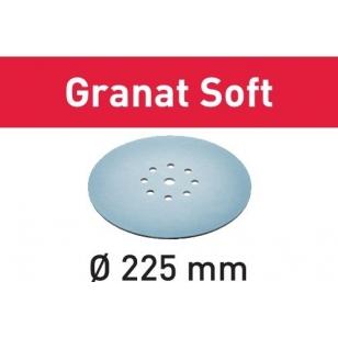 Festool Brúsny kotúč STF D225 P100 GR S/25 Granat Soft