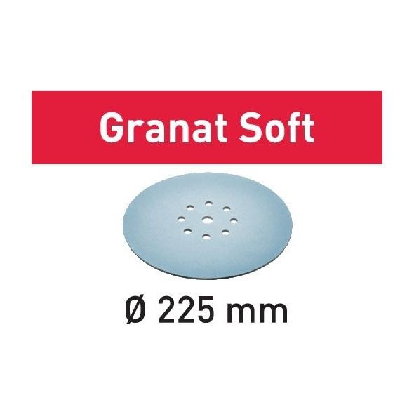 Festool Brúsny kotúč STF D225 P120 GR S/25 Granat Soft