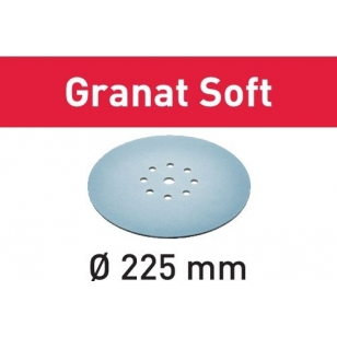 Festool Brúsny kotúč STF D225 P400 GR S/25 Granat Soft