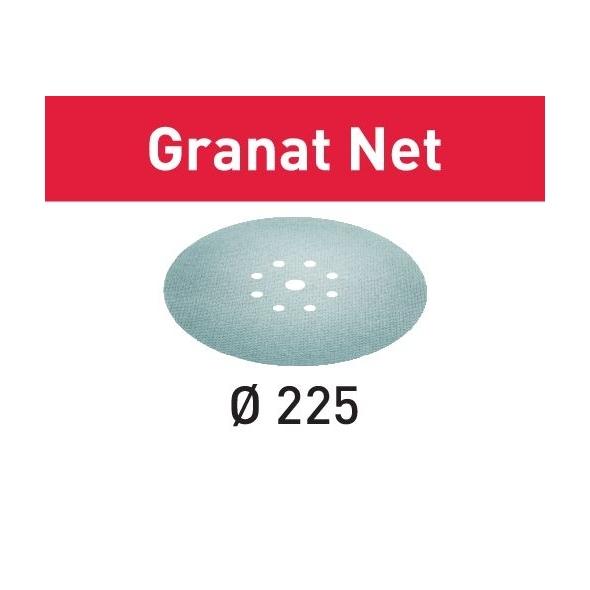 Festool Sieťové brúsne prostriedky STF D225 P220 GR NET/25 Granat Net