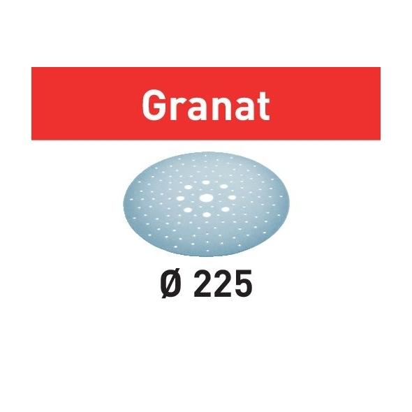 Festool Brúsny kotúč STF D225/128 P80 GR/25 Granat