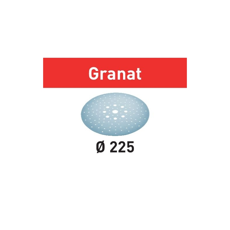 Festool Brúsny kotúč STF D225/128 P100 GR/25 Granat