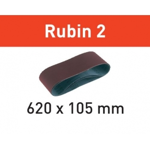 Festool Brúsny pás L620X105-P40 RU2/10 Rubin 2