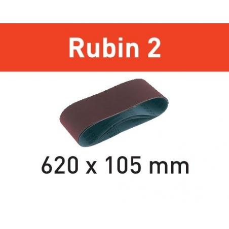Festool Brúsny pás L620X105-P80 RU2/10 Rubin 2