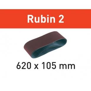 Festool Brúsny pás L620X105-P60 RU2/10 Rubin 2
