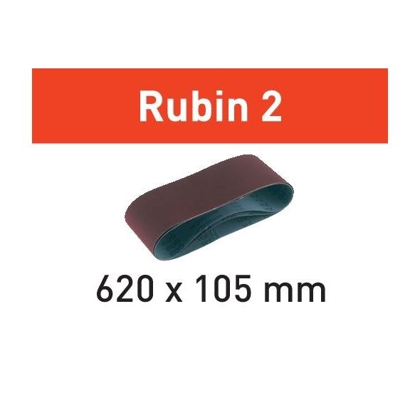 Festool Brúsny pás L620X105-P120 RU2/10 Rubin 2