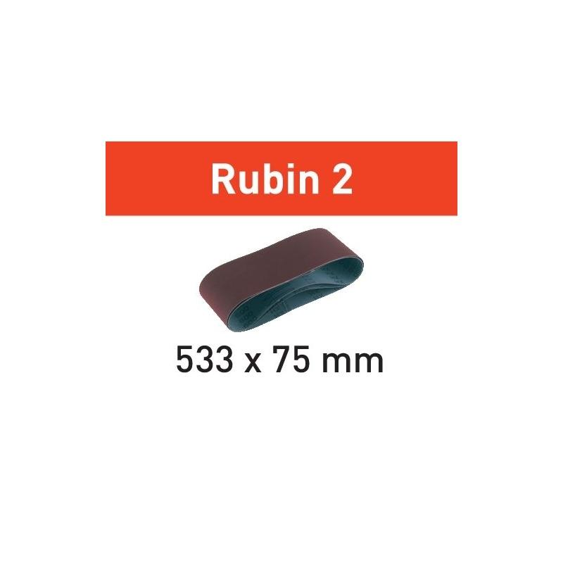 Festool Brúsny pás L533X 75-P40 RU2/10 Rubin 2