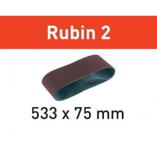 Festool Brúsny pás L533X 75-P80 RU2/10 Rubin 2