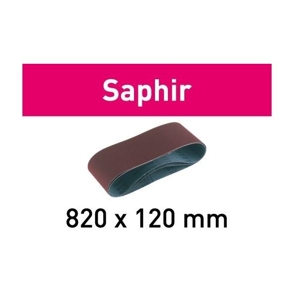 Festool Brúsny pás 820x120-P80-SA/10 Saphir