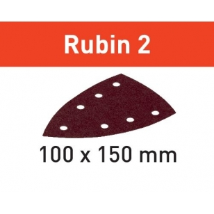Festool Brúsny list STF DELTA/7 P150 RU2/50 Rubin 2