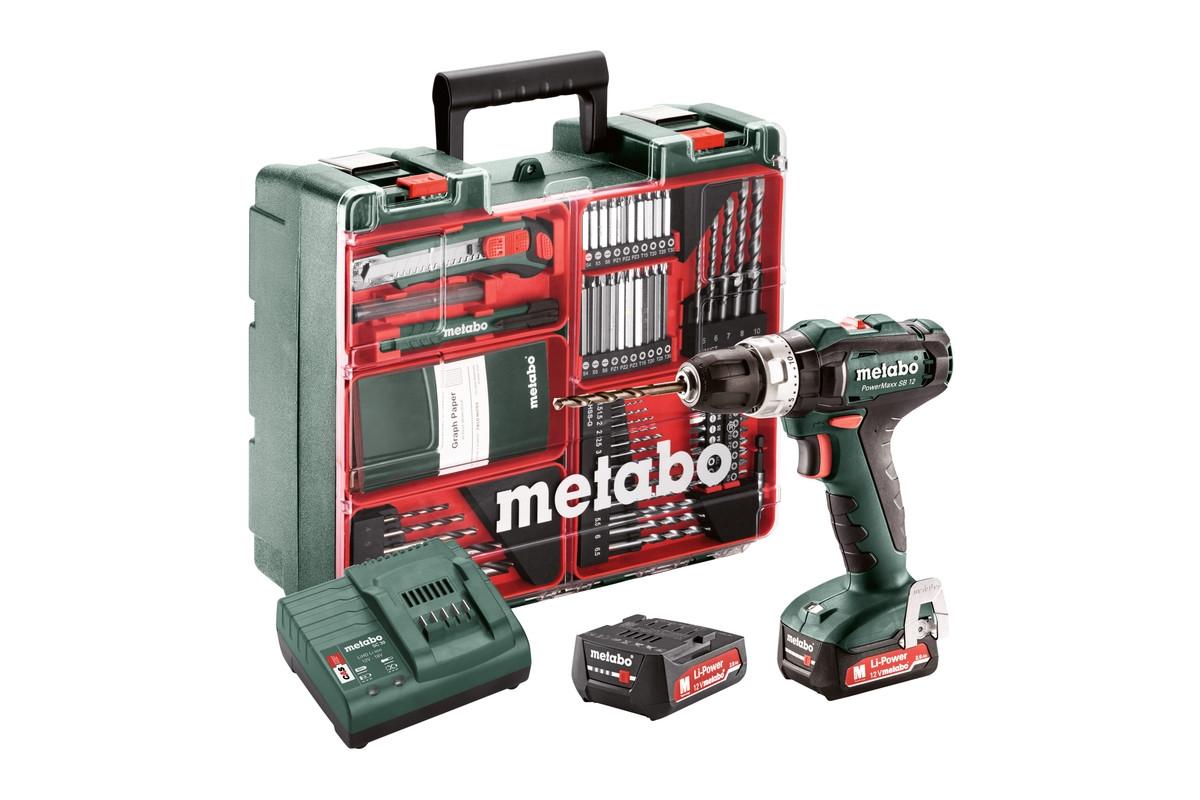 METABO PowerMaxx SB 12 Set