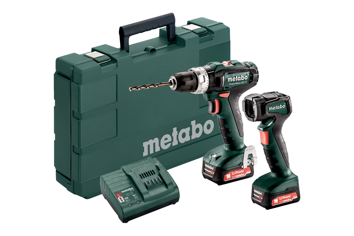 METABO Set PowerMaxx SB 12