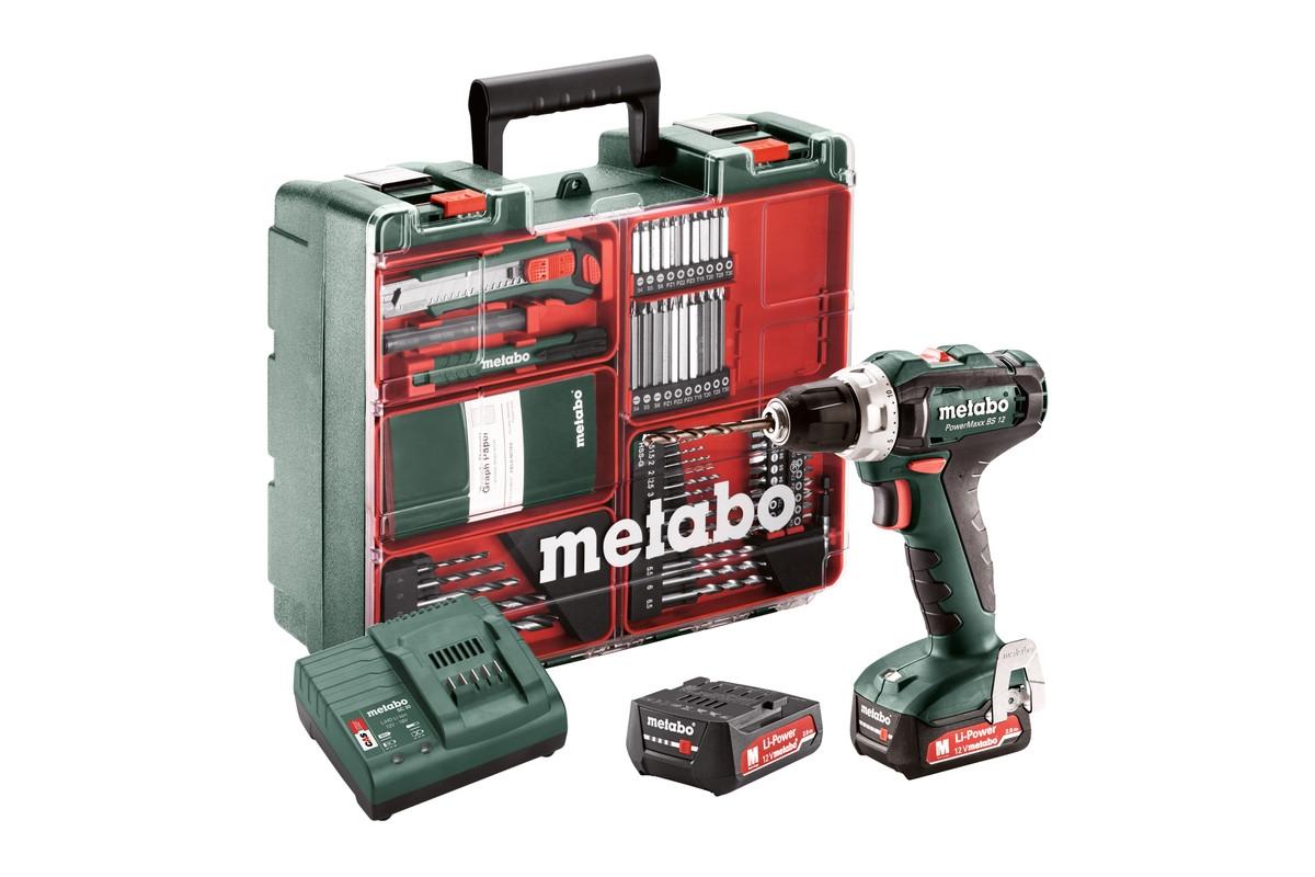 METABO PowerMaxx BS 12 Set