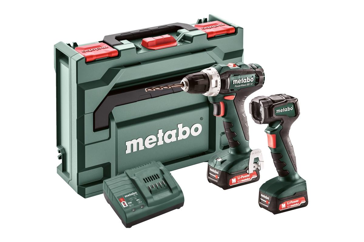 METABO Set PowerMaxx BS 12