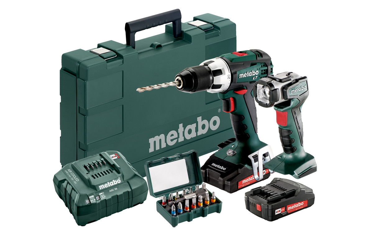 METABO BS 18 LT Set