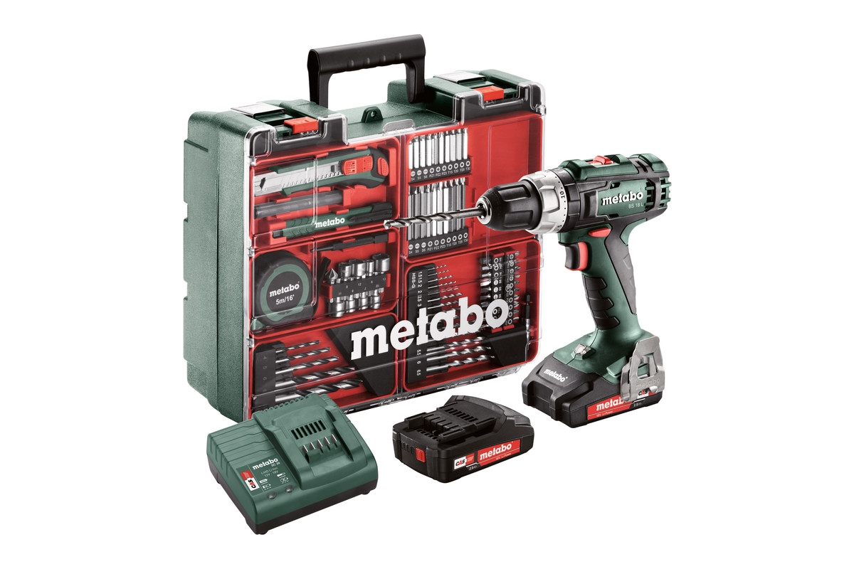 METABO BS 18 L Set