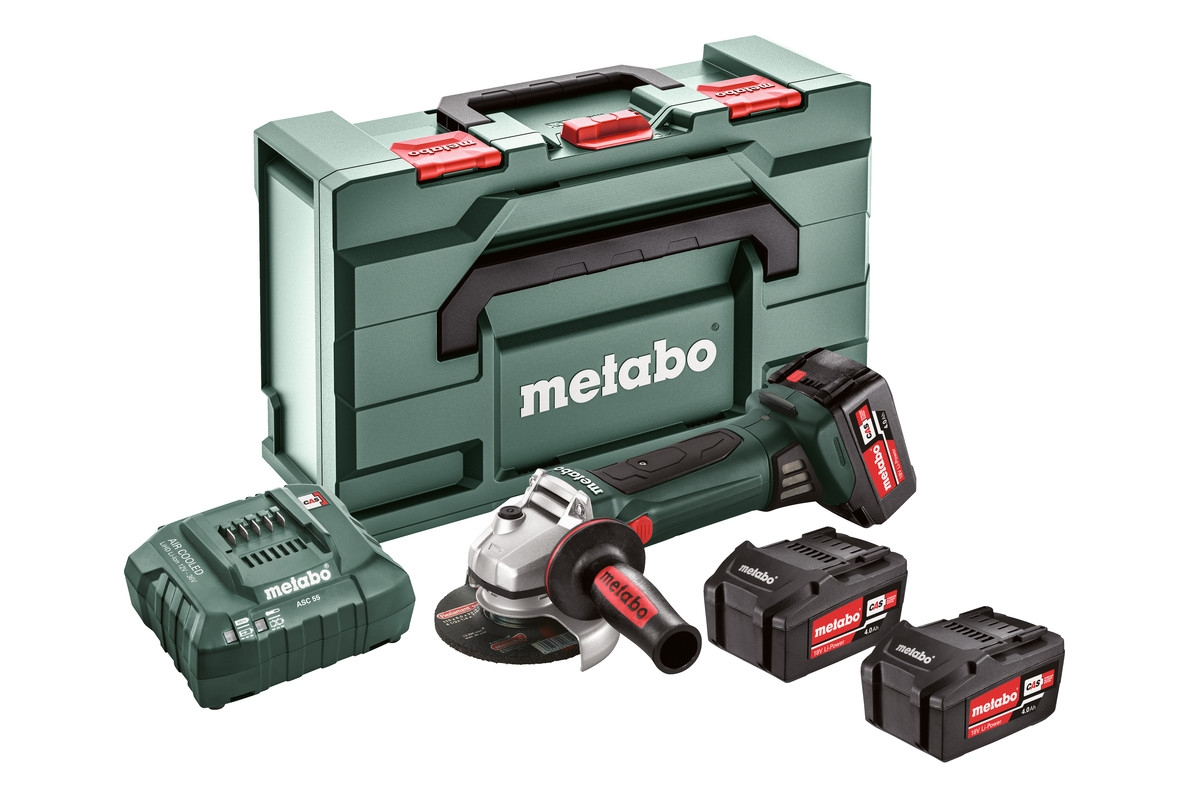 METABO W 18 LTX 125 Quick Set