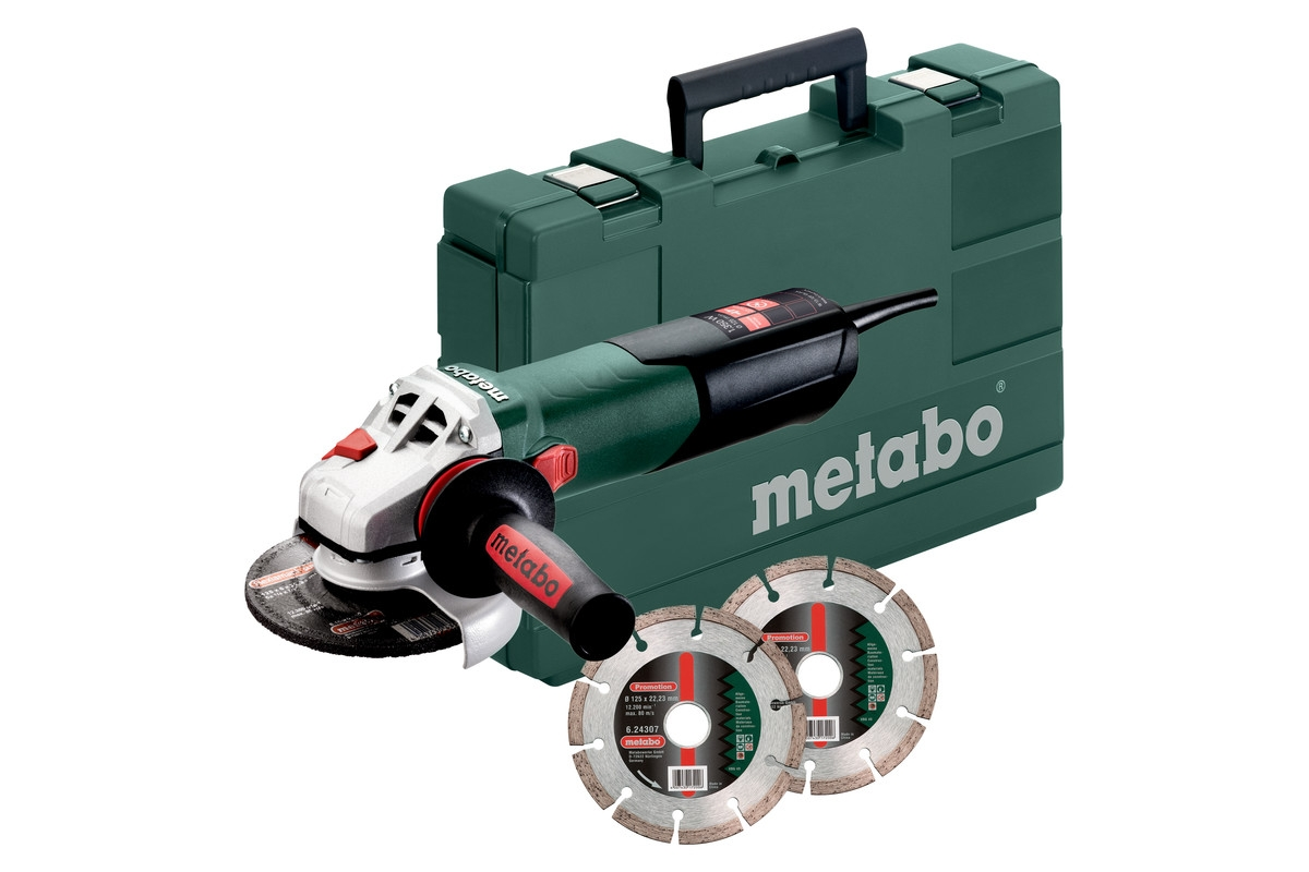 METABO W 13-125 Quick Set