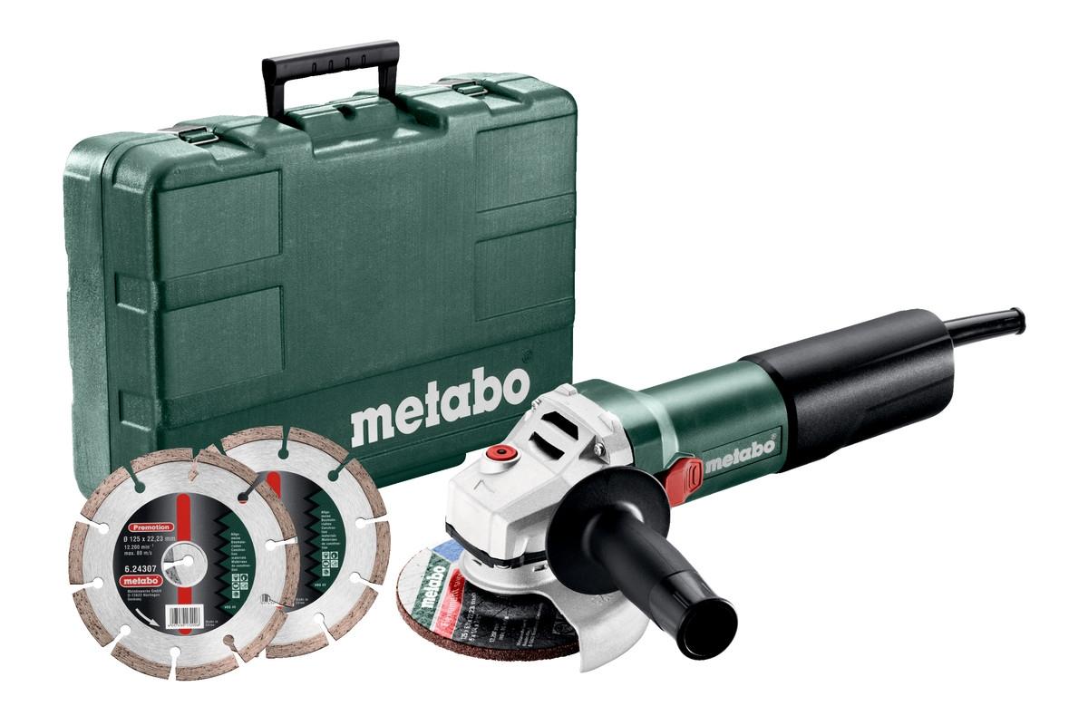 METABO WQ 1100-125 Set
